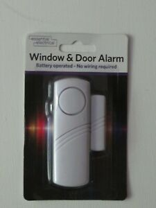 Essential Electrical Window & Door Alarm (Home Security)