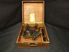 Original Wwii 1941 Us Navy Mark Ii David White Company Sextant With Case