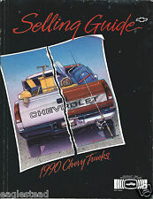 Truck Brochure - Chevrolet - Selling Guide - Chevy - 1990  (T1455)