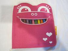 P'Kolino 10 Crayon Set with Case~NEW~Free Ship~LBDMD
