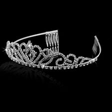 Fashionable Crown Headband Crystal Bridal Tiaras Jewelry Rim for Hair Party one