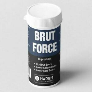 Brut Force - Wort Enzyme To Produce a Dry Beer - Treats 40 Pints