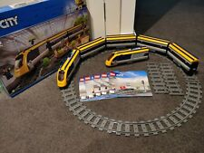 Lego City Passenger Train (60197) with extra carriages and rear engine