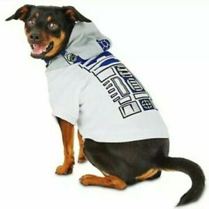 NWT Petco Star Wars R2D2 Reflective Dog Hoodie/Halloween Costume SZ Large