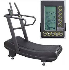 New-in-the-box Sprintrunner Curve Manual Resistance Treadmill with Monitor
