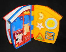 Fisher-Price Little People Let's Go To The Farm! Interactive Shapes Puzzle Book