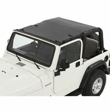Bestop 52404-35 Safari Style Sun Bikini Top Black Diamond For 97-06 Wrangler TJ