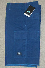 Nike sz 32 MEZZO SB Men's Cargo Elephant Print Cement Shorts NEW $65 627996 483