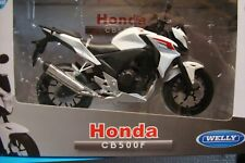 Honda CB 500 F 2014 White 1:10 WELLY