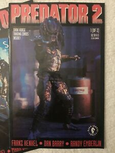 Predator 2 DARK HORSE COMICS #  1 & 2 SET  PREDATOR II  VF/NM