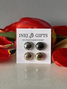 Hijab Magnetic Rose Strong Pins 4 Pack