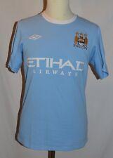 Trikot von Manchester City, Saison 2009/2010, Größe S, Umbro #45 BALOTELLI