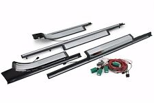 Door Sill Illuminated White MERCEDES S CLASS W220 Facelift Stainless Steel Orig