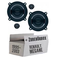 Mac Audio haut-parleurs pour Renault Megane 1 13cm Système Voiture BOXE AUTO