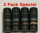 Toppik - 2pcs Special - Dark Brown Black & more Hair Loss Building Fibers 27.5G  <br/> FAST SHIPPING FROM USA FACTORY SEALED BOTTLES