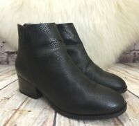 Womens Clarks Elvina Dawn Black Leather Zip Up Ankle Boots UK 3.5 D EUR 36
