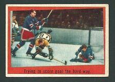 Gump Worsley / Harry Howell IA 1959-60 Topps Card #54