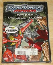 Transformers Armada : Best of the Decepticons DVD New animation