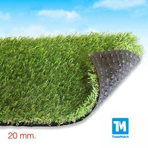 Tidyard Prato Sintetico 2 mm,Erba Artificiale con Tacchetti 100/% PP,Manto erboso Finta Erba Giardino Tappeto Verde 10X1 Metri