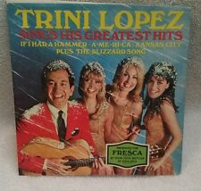 """TRINI LOPEZ SINGS HIS GREATEST HITS"" (R&R) 45 SHIPS FREE"