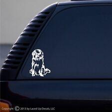 Newfoundland Dog newfie newfy car window vinyl decal sm