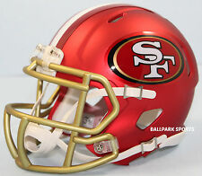 SAN FRANCISCO 49ERS (NFL BLAZE) Riddell Speed Mini Helmet