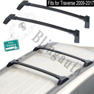 Aluminum cross bar fits for Chevy Traverse 2009-2017 roof carrier luggage bars