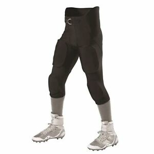 Alleson Athletic Intergrated Football Pants - Black, S