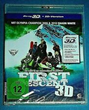 FIRST DESCENT 3D BLU-RAY & 2D NEW SEALED Snowboarding English  *read below*