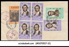 JAMAICA - 1970 AIR MAIL Envelope to U.S.A. with Stamps