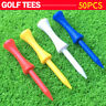 Plastic Step Down Castle Height Control Golf Tees Colorful 50pcs/set 68mm
