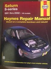87010 HAYNES MANUAL SATURN S SERIES 1991-2002 VERY GOOD CONDITION FREE SHIPPING