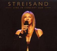 Barbra Streisand/Live In Concert 2006 * NEW 2cd's * NOUVEAU