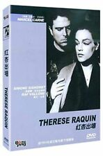 Therese Raquin All Region DVD Simone Signoret, Raf Vallone, Jacques Duby NEW UK