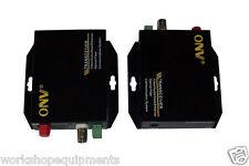 Optic Optical Fiber Extender 1CH Video Transmitter Receiver Converter