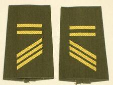 Navy Shoulder Marks: Corporal Ba, Olive/Gold, Petty Officer Aspirant
