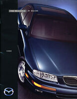 1998 Mazda Millenia 20-page Dealer Sales Brochure Catalog