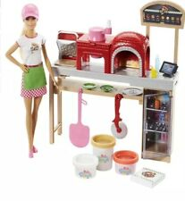Mattel Barbie Pizza Chef Doll and Playset (FHR09)