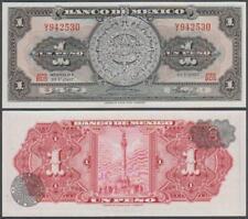 Banco De Mexico, 1 Peso, 1967, UNC, P-59(j)