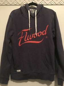 Elwood Hoody Mens Size L Blue