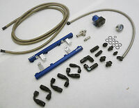 OBX Blue Fuel Rail Fit 1996 1997 1998 SVT Mustang Cobra 4.6L DOHC Modular V8