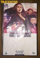 Ready! Hot Toys MMS370 Captain America Civil War - Scarlet Witch Elizabeth Olsen