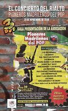 """EL CONCIERTO DEL RIALTO """"PIONEROS DEL ROCK MADRILEÑO"""" 3 DVD"""