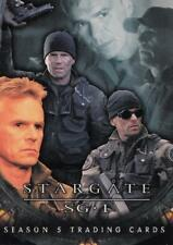 2002 Stargate SG1 Season 5 promo card P2 Jack O'Neill
