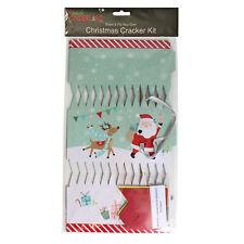Christmas Cracker Kit Santa design - Pack of 6 - DIY - Make / Fill your Own