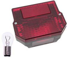 Rücklicht für Simson S51 SR50 Bremslicht eckig MZ ETZ 150 250 251 + Glühbirne