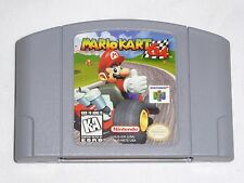 Mario Kart 64 Nintendo 64 Game N64 - AUTHENTIC car cart race WORKS GREAT - READ