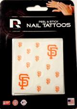 San Francisco Giants Peel & Stick Nail Tattoos