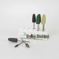 1 box HP Dental Resin Base Acrylic Polishing Burs Drill Polisher 8pcs/box