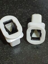 2x Plastic Bracket Clips Rear Seat Bench Fit For Audi Q7 A4 A6 Quattro S4 S6